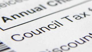 Council tax notice