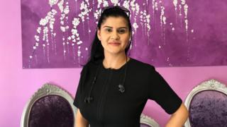 Safia Chalid owns a beauty bar on Gravesend High Street