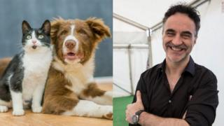 Supervet says pets will help us through