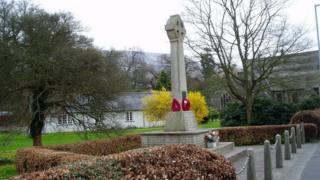 Llandinam war memorial