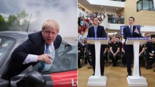Boris Johnson, David Cameron, George Osborne