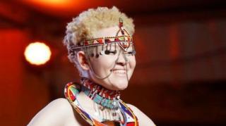 takmičenje za mis albino u keniji