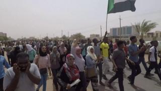 مظاہرہ خرطوم