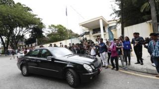 朝鮮駐馬來西亞大使館