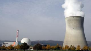 АЭС в муниципалитете Лайбштадт в кантоне Аргау