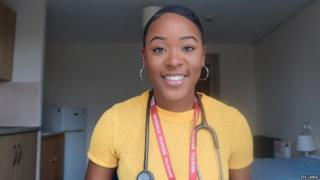 Picture of Eva Larkai, a fourth-year medical student and president of BME Medics Bristol