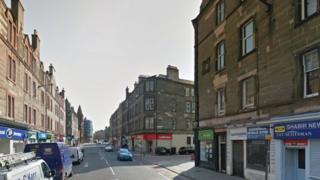 Gorgie Road in Edinburgh