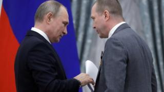 Евгений Миронов и Владимир Путин