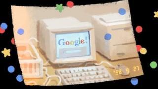 谷歌21歲