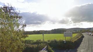 A Rushen Parish sign