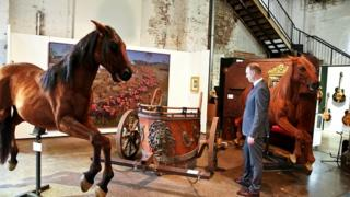 Gladiator memorabilia at Russell Crowe auction