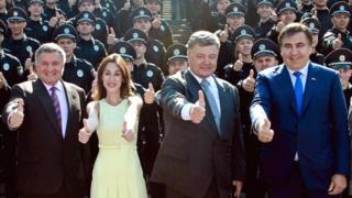Саакашвілі, Аваков, Порошенко, Згуладзе