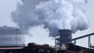 Tata steelworks Port Talbot