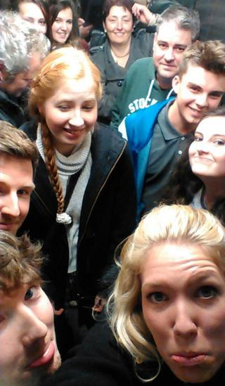 People stuck in lift in Norwich