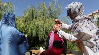 vaksinasi, afghanistan