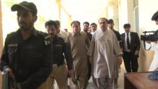 مجید خان اچکزئی پولیس کی تحویل میں