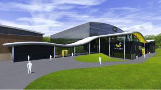 An artist's impression of how the centre may look