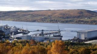 Faslane Naval Base