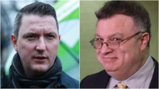 John Finucane and Stephen Farry