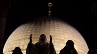 صورة لقبة الصخرة في القدس