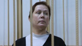 Наталья Шарина в суде