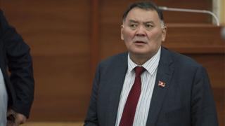 """Камчыбек Жолдошбаев - """"Өнүгүү-Прогресс"""" фракциясынын депутаты"""