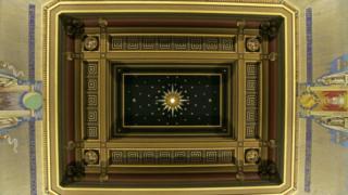 Büyük Tapınak'ın tavanı