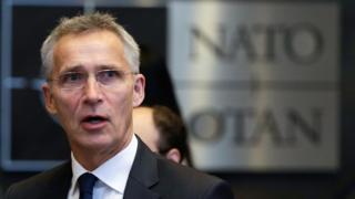 Nato Genel Sekreteri Jens Stoltenberg BBC'ye konuştu.