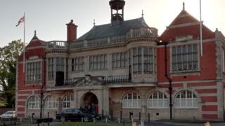 Barnet Council's HQs at Hendon Town Hall