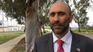 Ian Hamm in Canberra on the 10th anniversary of Australia's national apology