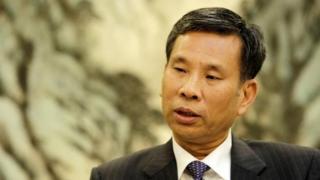Chinese Finance Minister Liu Kun