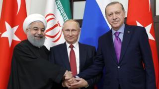 İran Rusya Türkiye