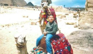 Allan and camels