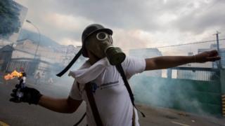 венесуела, протести