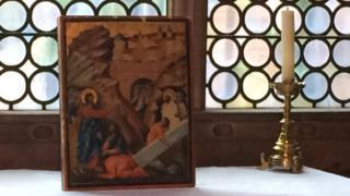 Painting The Raising of Lazarus