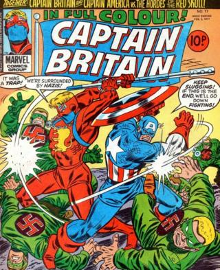 Captain Britain and Captain America