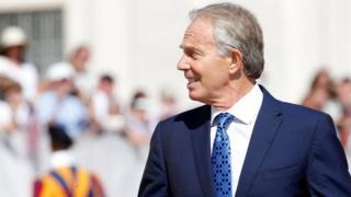 Former PM Tony Blair