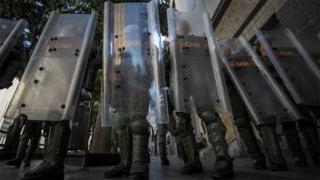 Guardia Nacional en la Asamblea Nacional de Venezuela