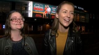 Gig buddies Ruth and Megan