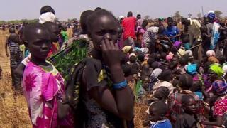 Raia wa Sudan Kusini wakimbia Vita vya wenyewe kwa wenyewe
