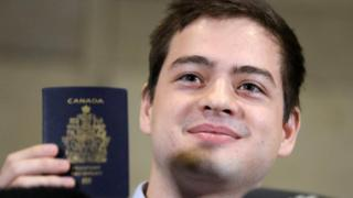 Alexander Vavilov holds a Canadian passport