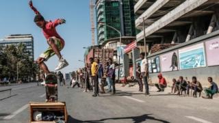 Kanneen gosa ispoortii 'skateboard' taphatan Guraadhala 03, 2019