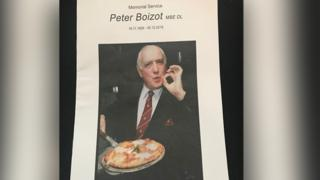 Peter Boizot memorial service schedule
