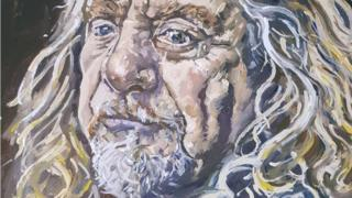 The Robert Plant painting