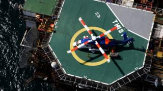 Workers evacuated from North Sea platform off Shetland