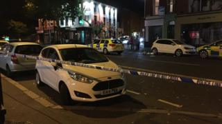 The incident happened on the Lisburn Road close to Wellesley Avenue