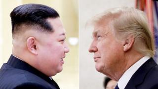 Kim Jong-un na Donald Trump