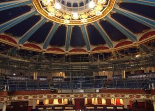 Interior of the Hippodrome