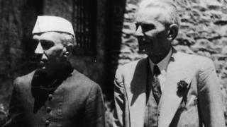 मोहम्मद अली जिन्ना, जवाहरलाल नेहरू