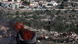 Палестинский протестующий